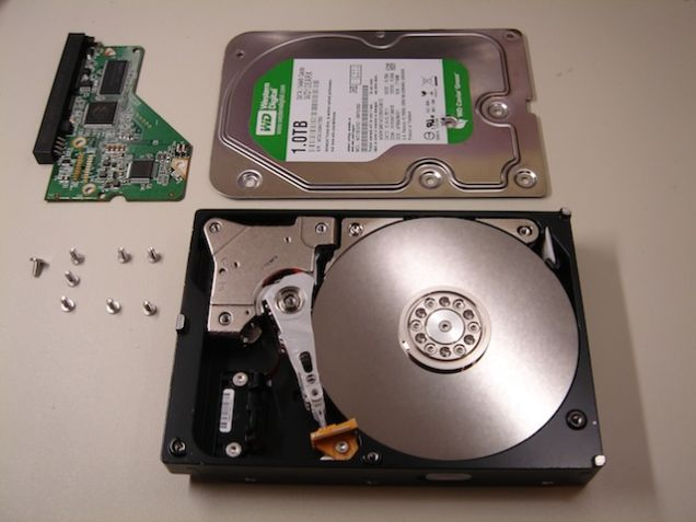 physically broken hard drive data recovery